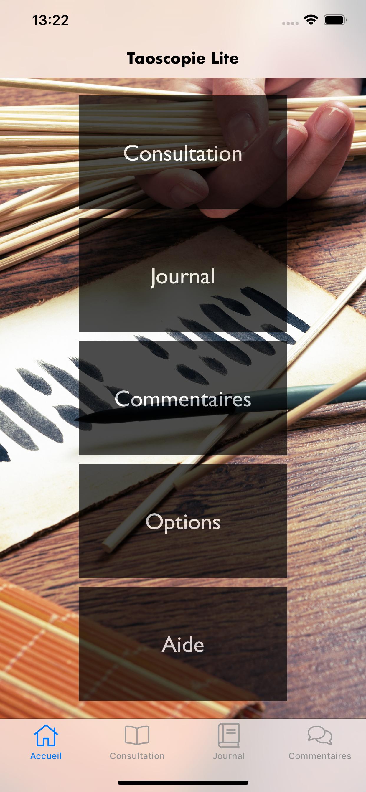 Taoscopie Lite pour iOS : plus de limitations mais des annonces